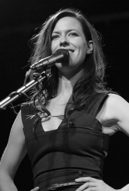 Williams performing, 2011