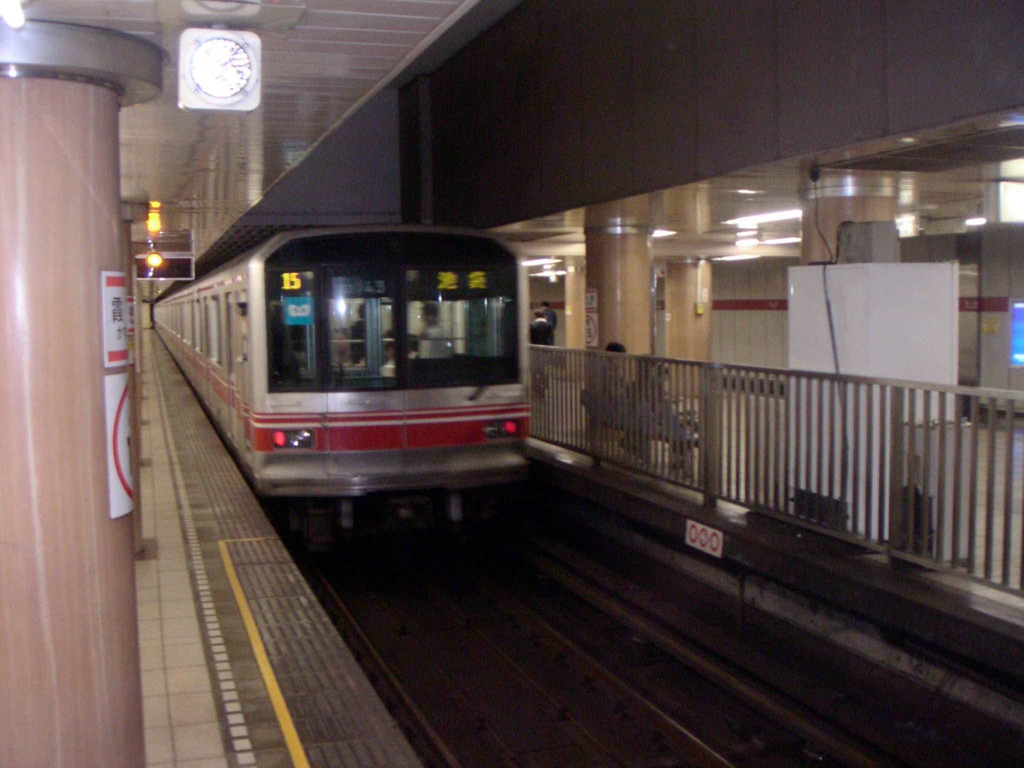Doftattentat i tunnelbanan