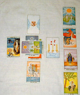 Divinatory, esoteric and occult tarot