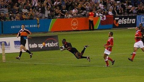 Kenya v Tonga try (2)