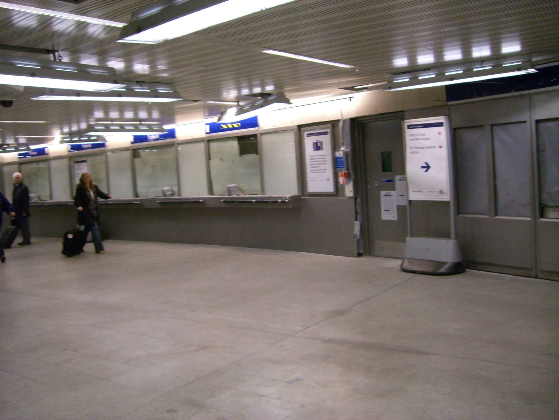 tube office. File:King\u0027s Cross St. Pancras Tube Station Ticket Office L
