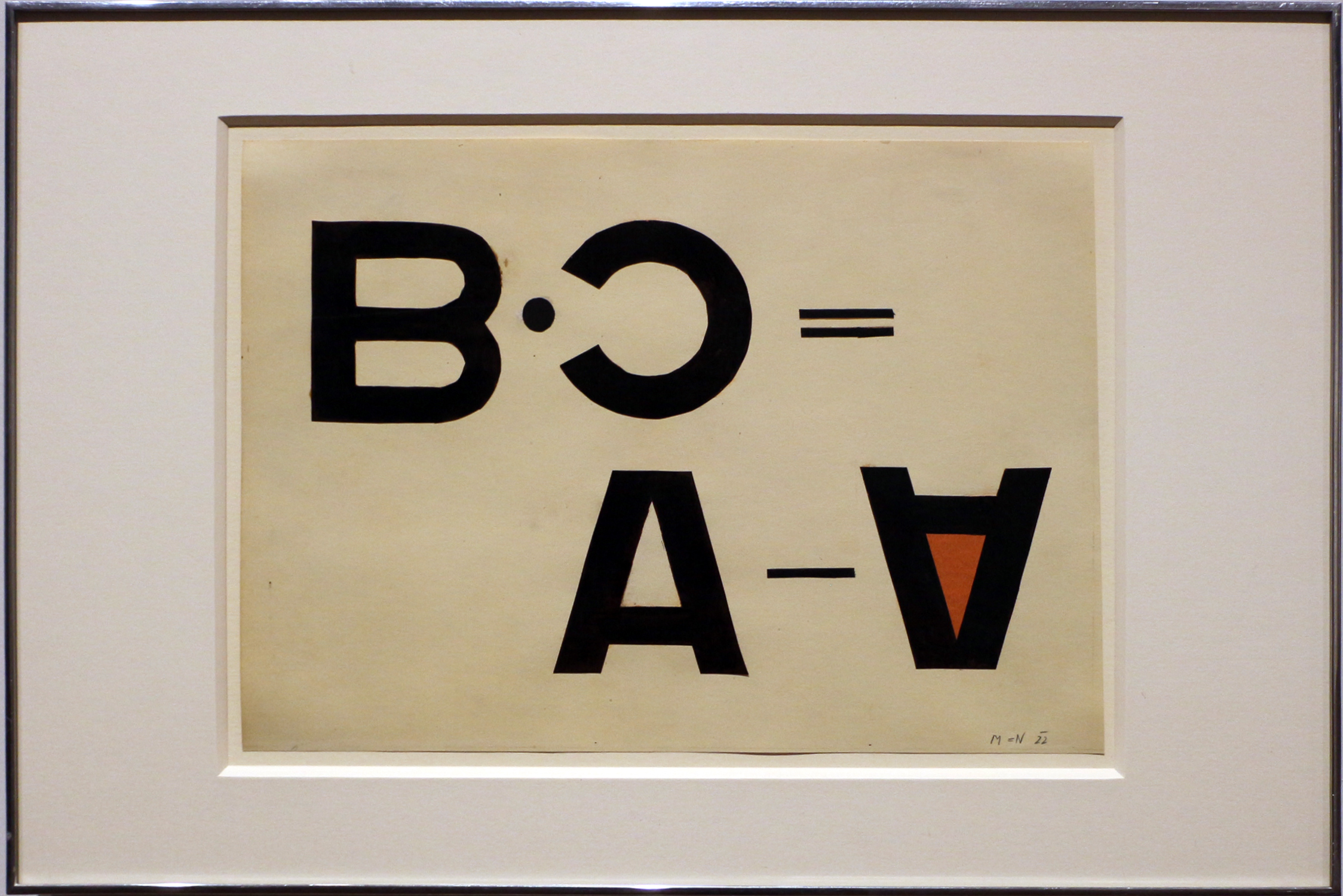 László Moholy-Nagy, collage tipografico, 1922 (Hattula Moholy-Nagy, MI).jpg