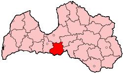 Bauska District District in Latvia