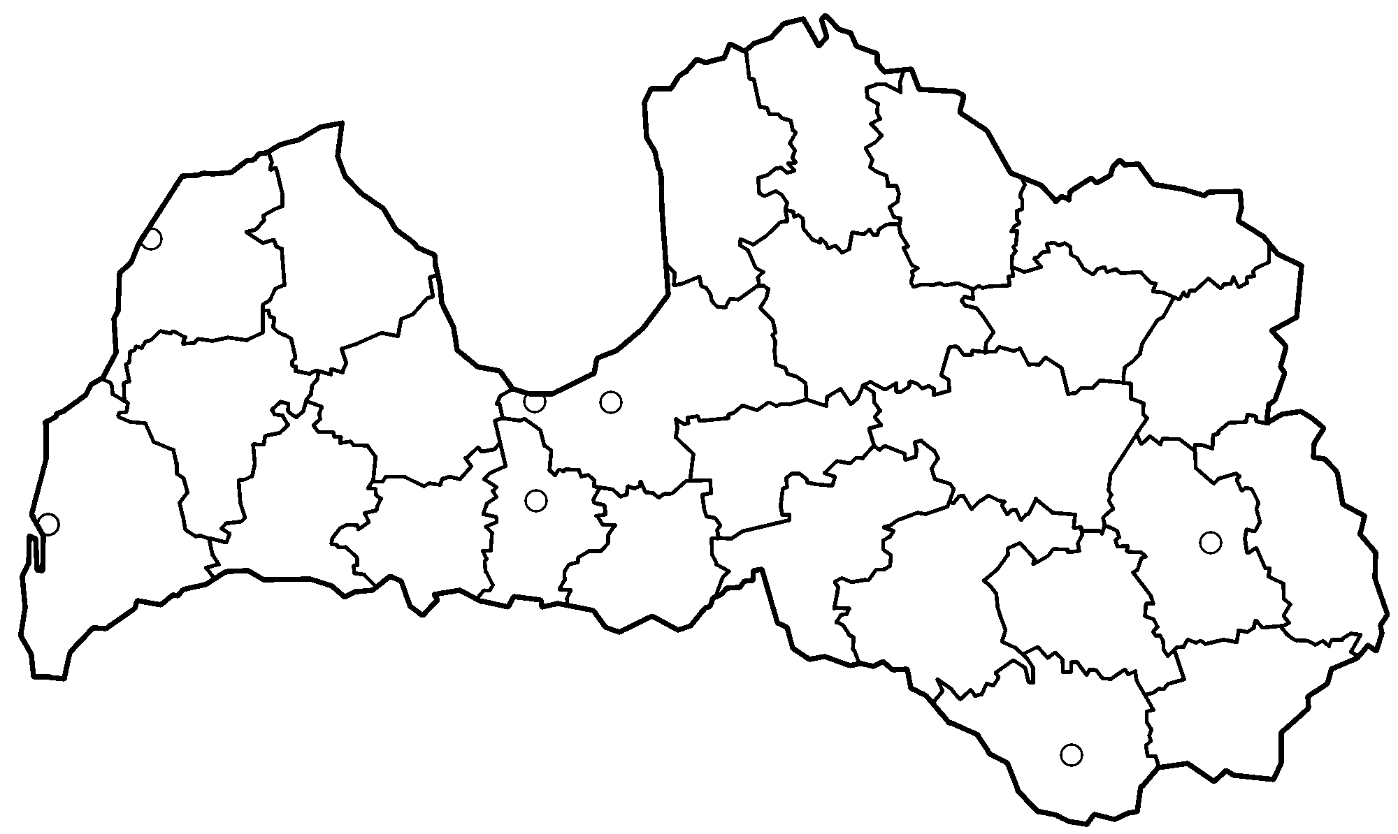 File:Latvia districts blank.png - Wikimedia Commons