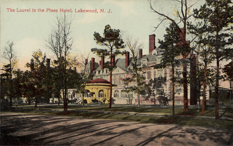 File Laurel In The Pines Hotel Lakewood New Jersey Png