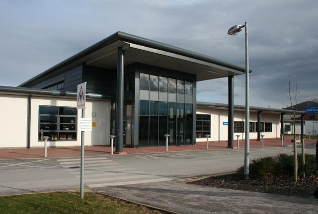 Leighton Hospital Treatment Centre Car Park