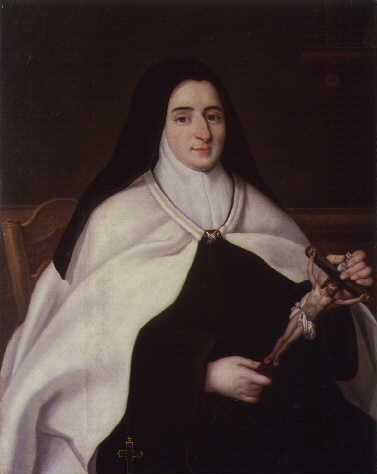 Portrait of Louise-Marie de France as a nun