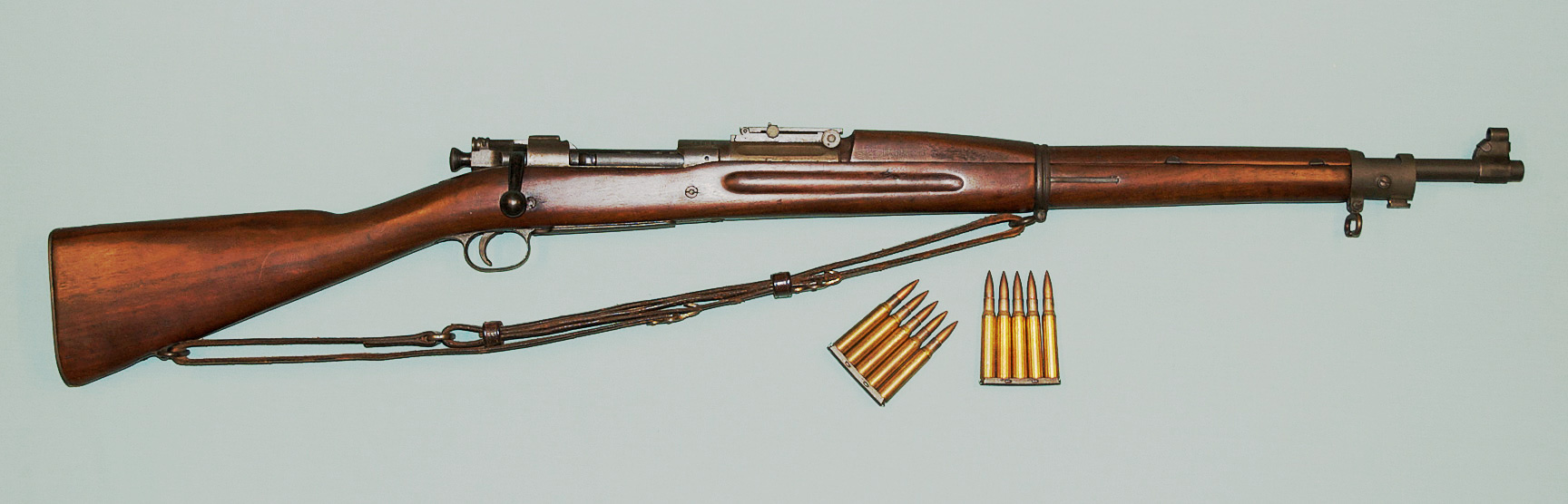 M1903 Springfield rifle.