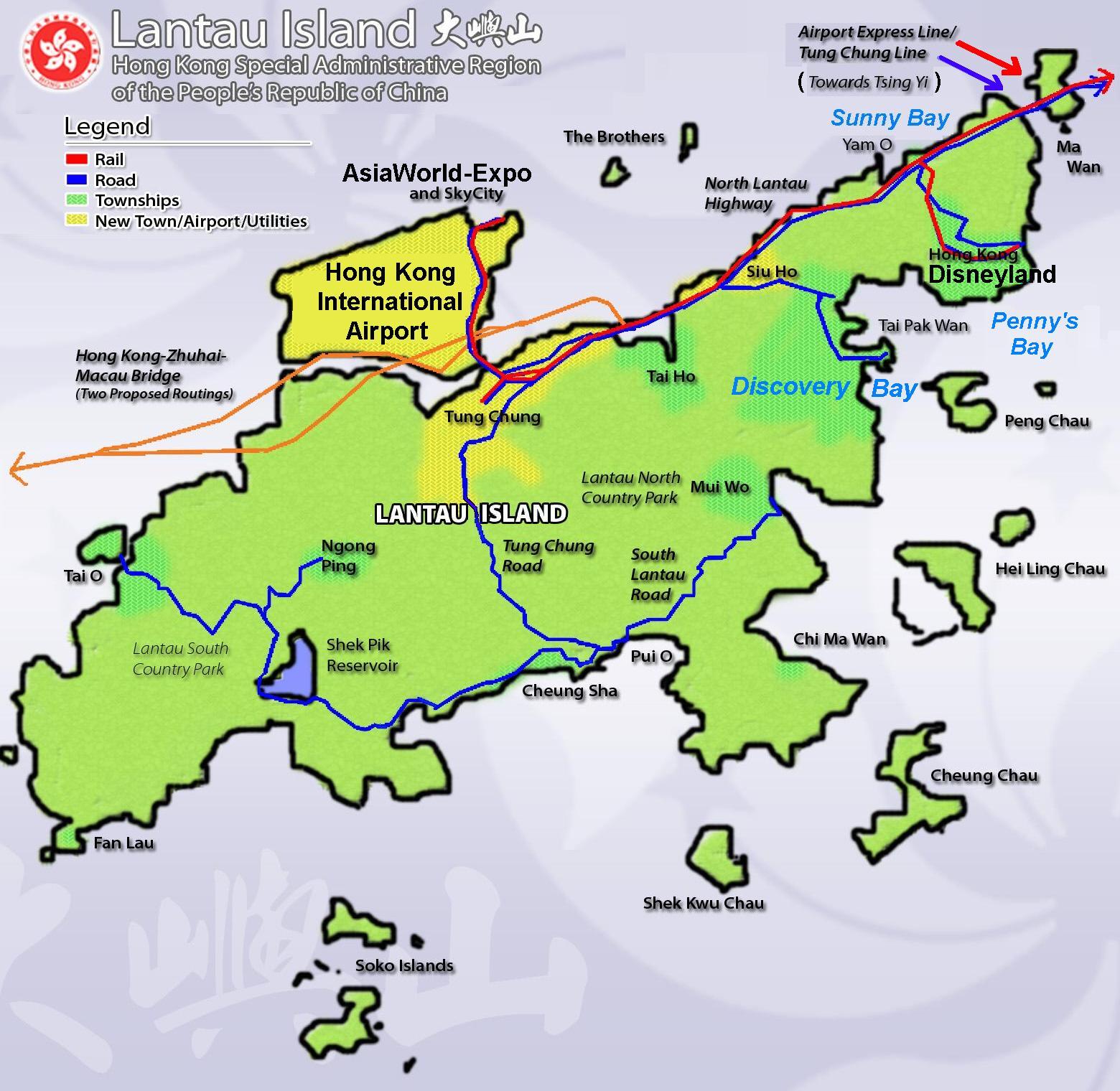 Hk Car Park Map