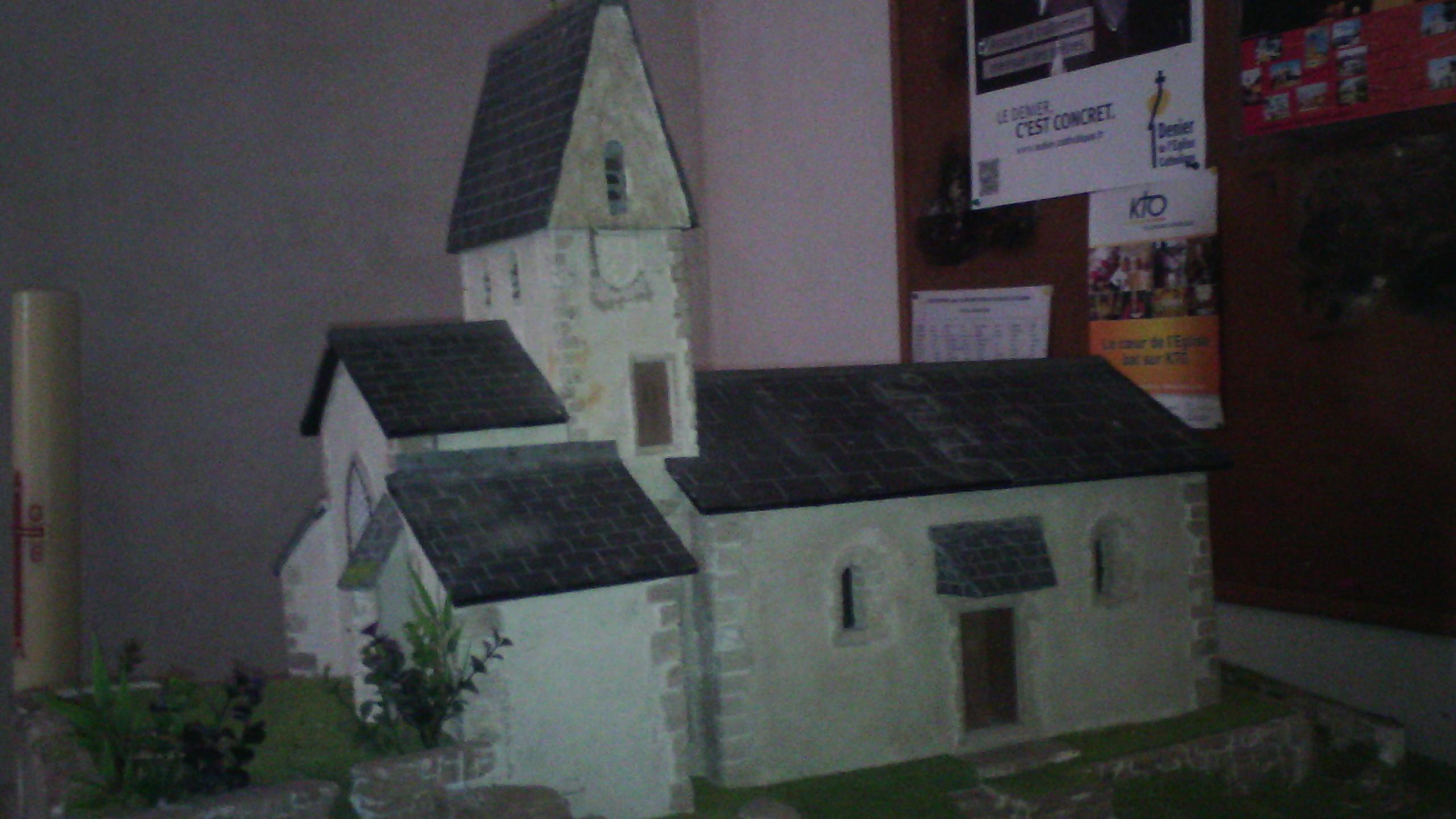 la chapelle de la. File:Maquette De La Chapelle D\u0027Uchon 01.jpg S