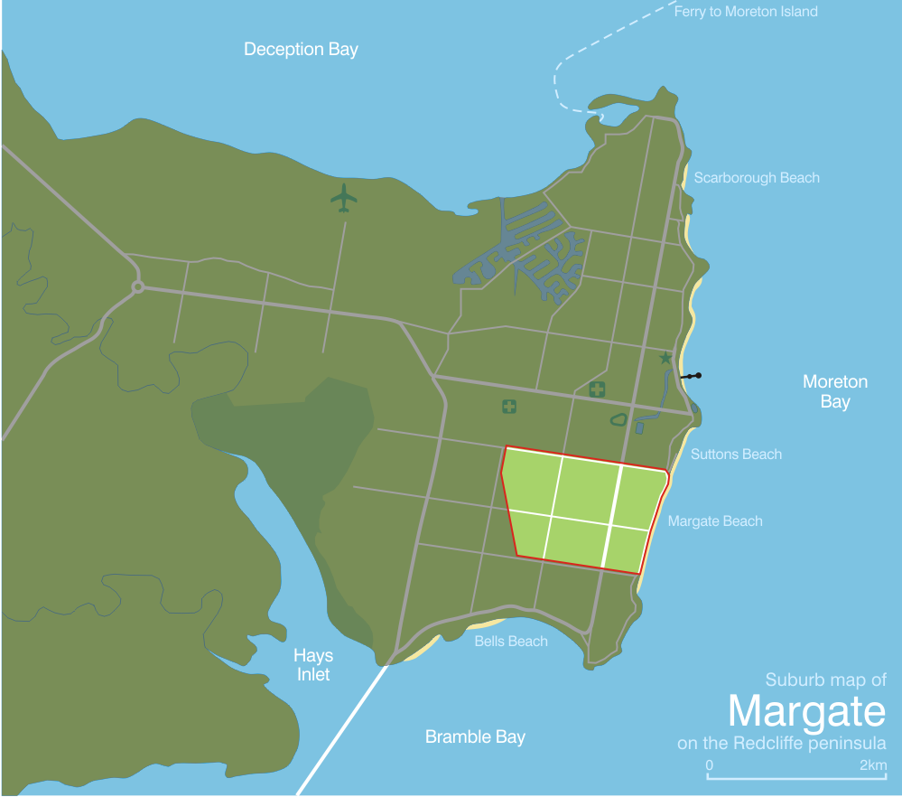 Margate Australia  City pictures : Margate queensland suburb map Wikimedia Commons