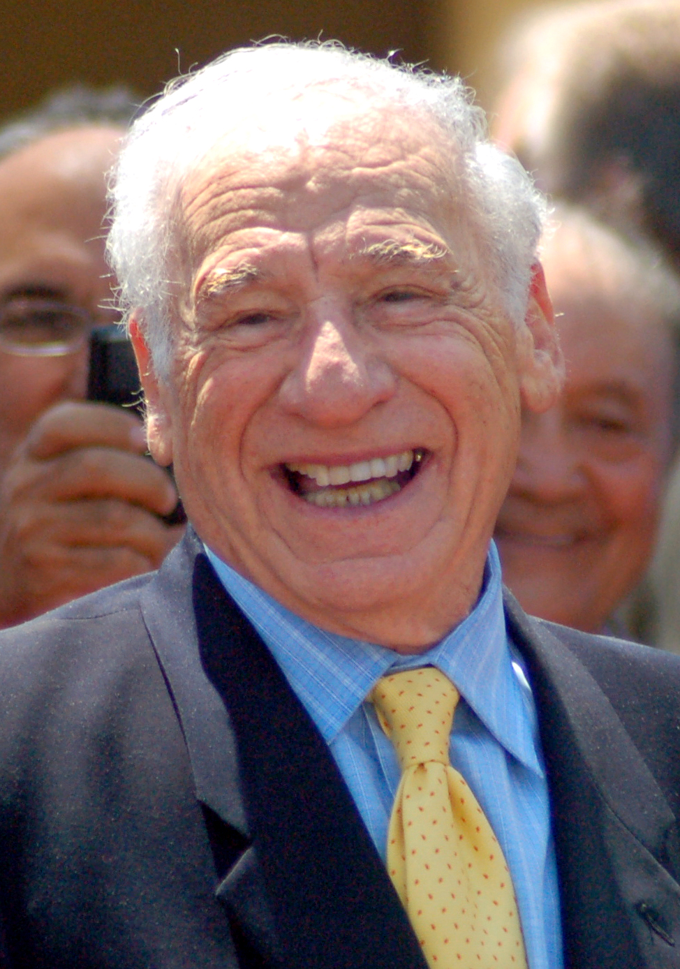 Portrait of Mel Brooks