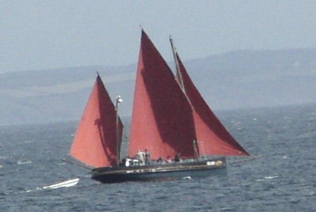 Mounts Bay Lugger - geograph.org.uk - 44656
