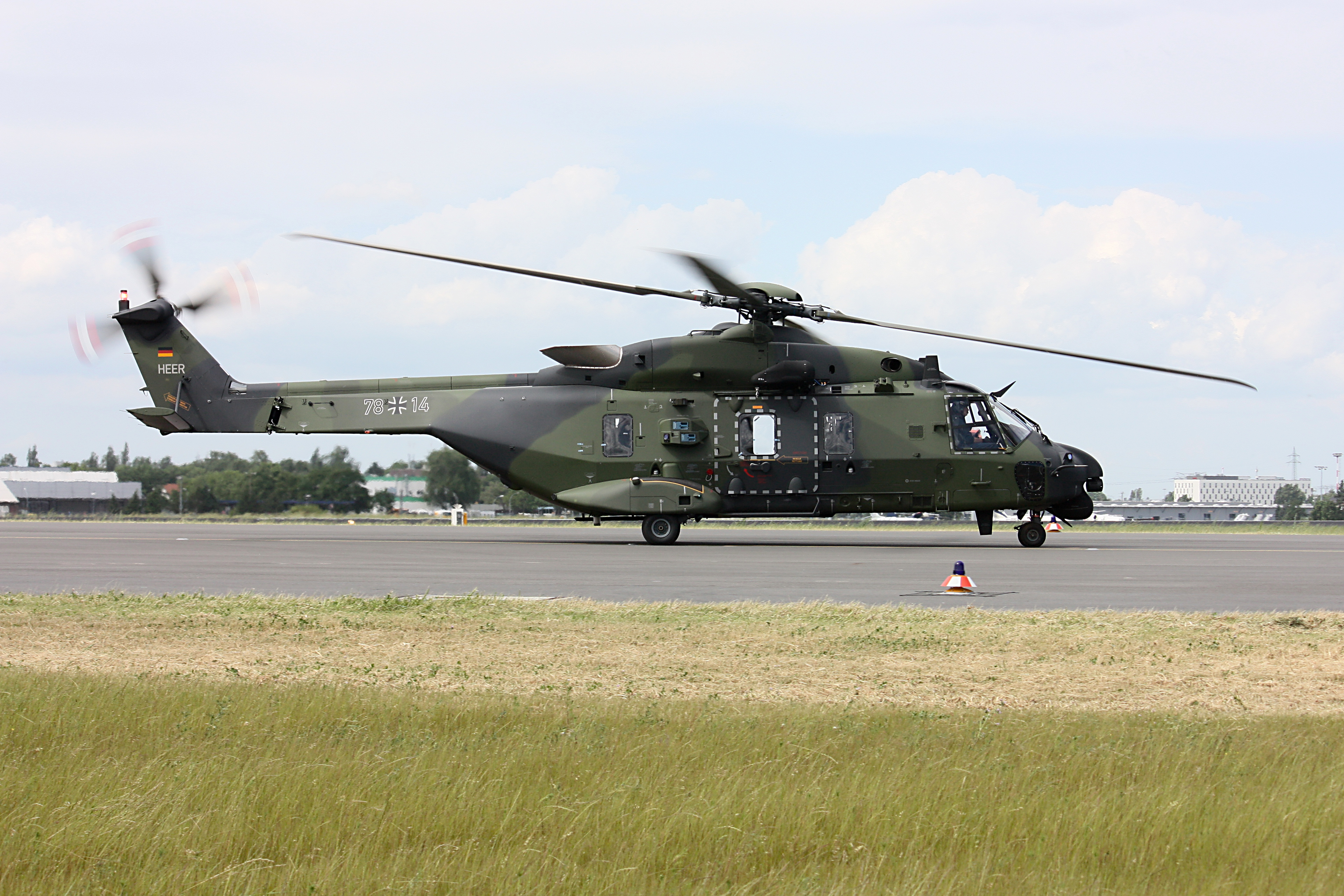 German Military Helicopters