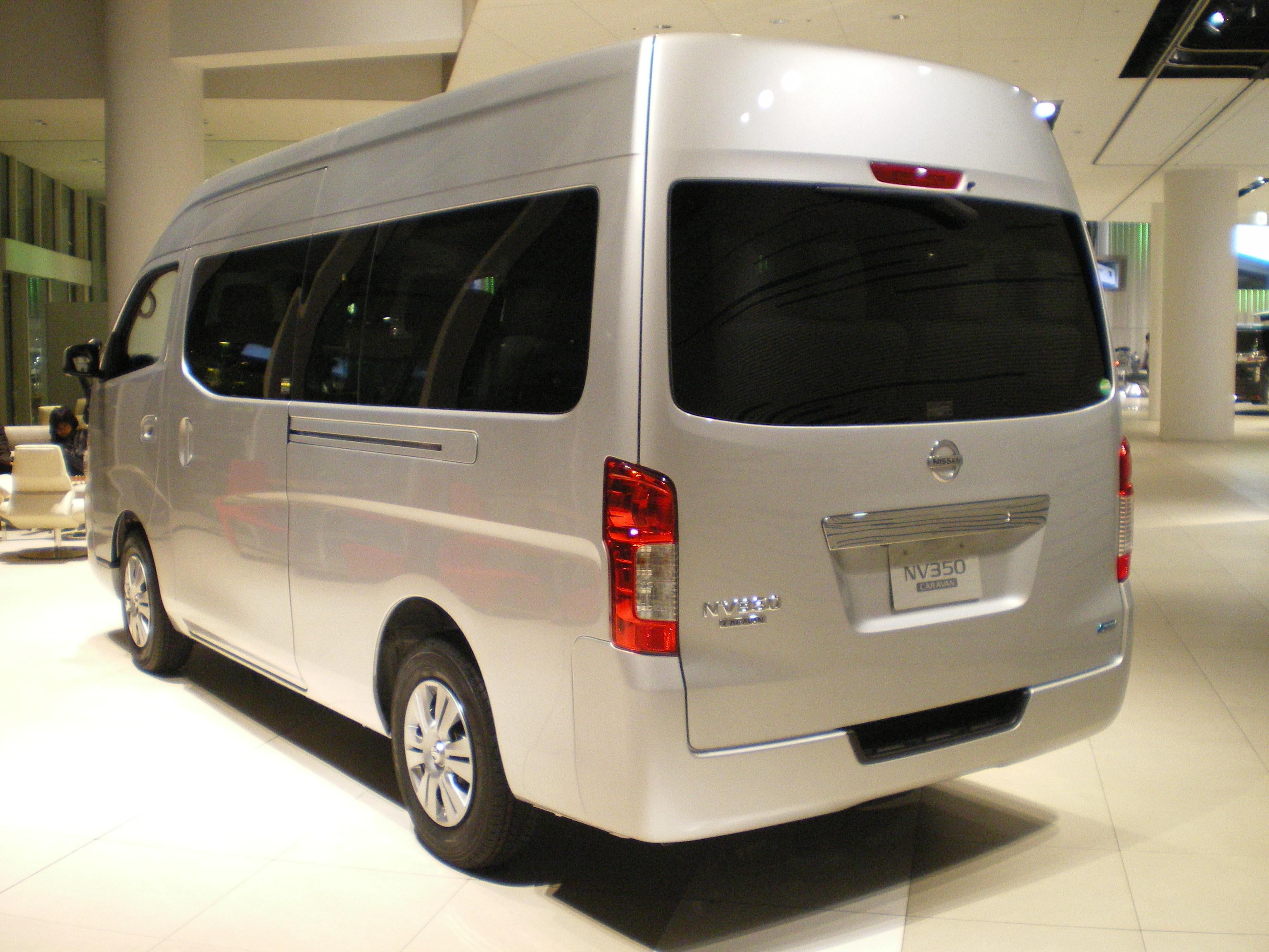 Nissan Nv Passenger >> File:NISSAN NV350 CARAVAN WIDEBODY E26 02.JPG - Wikimedia ...
