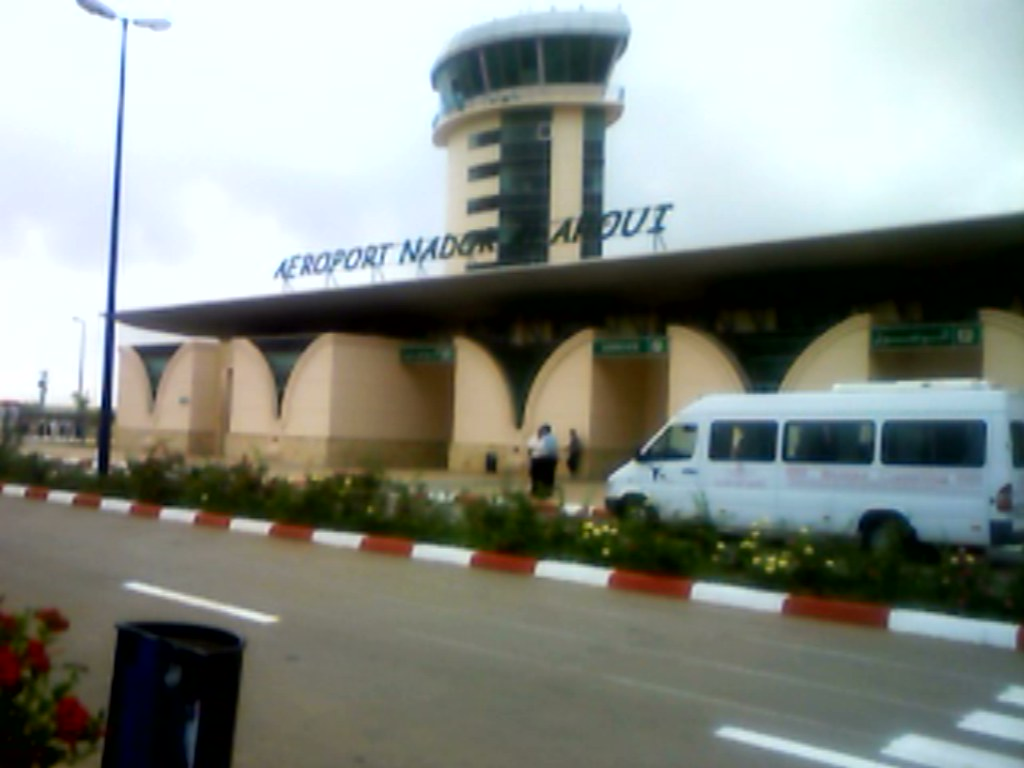 Description Nador-airport-front.jpg