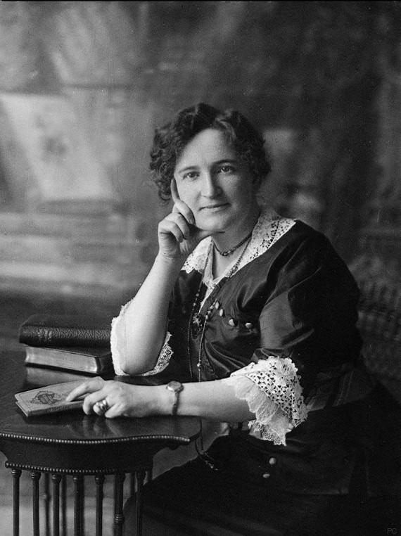 Portrait of Nellie McClung