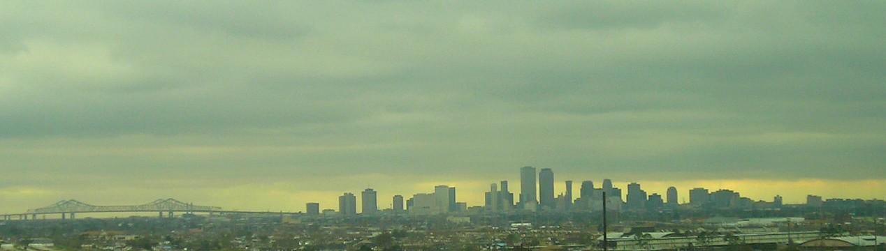 New Orleans skyline, 2007