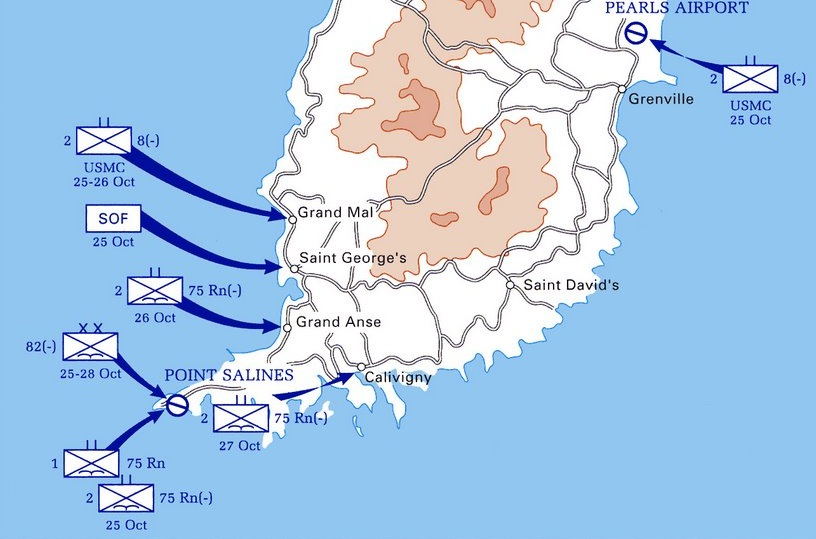Operational Aspect Of Rangers And Beyond Eugen Systems Forums - Road map of grenada island