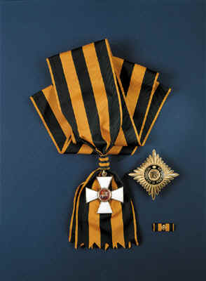 Order of St. George, 1st class with star and sash RF