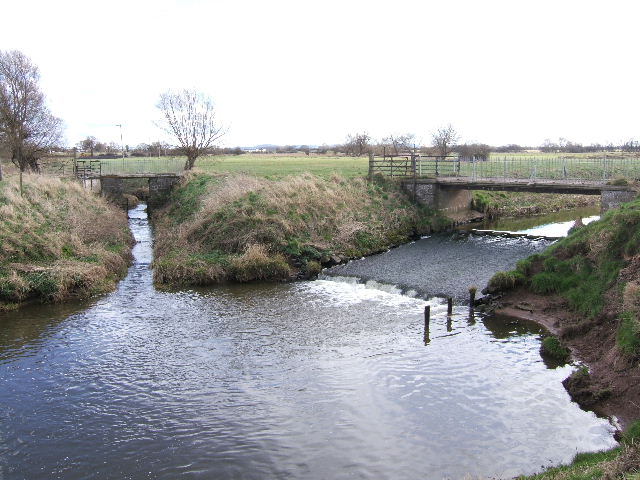 Oxen Bridge on the River Gowy - geograph.org.uk - 715842