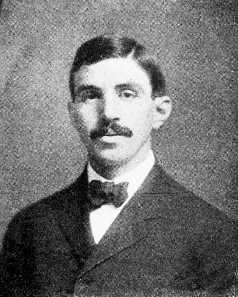 Photograph of Kasner dated 1907.