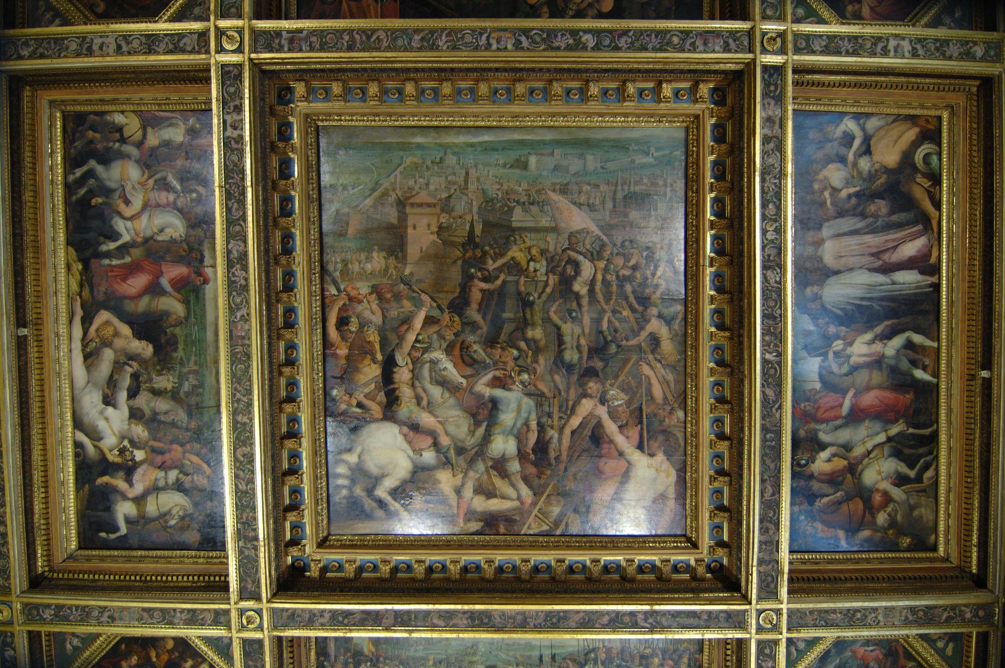 Sala Da The Milano.File Palazzo Vecchio Sala Di Leone X La Presa Di Milano Da