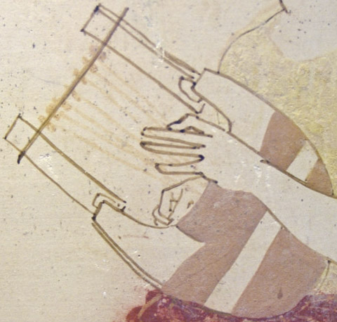 Phorminx Staatliche Antikensammlungen Schoen80 detail
