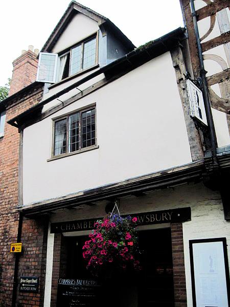 Prince Rupert Hotel Shrewsbury Menu