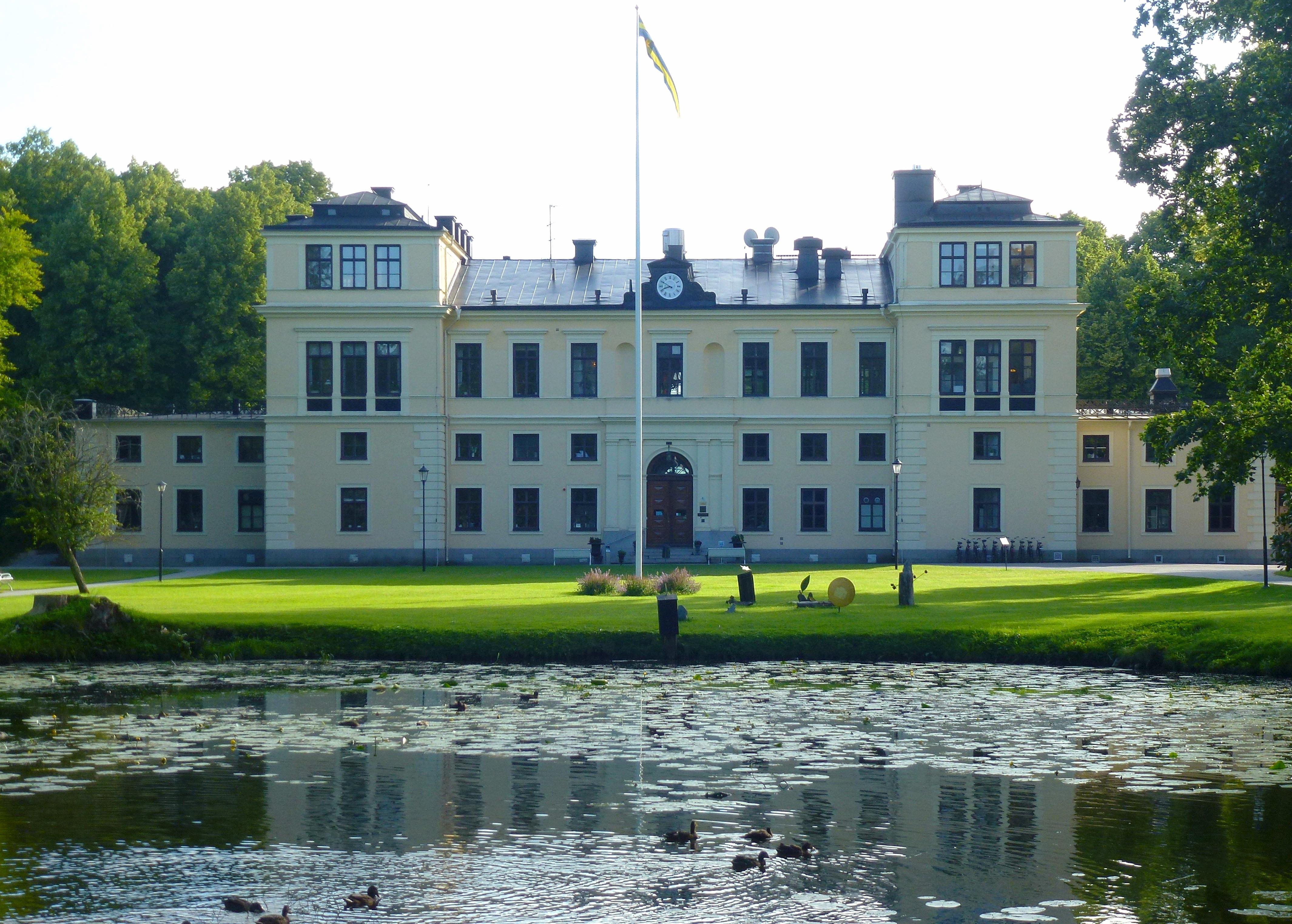 slott med spa