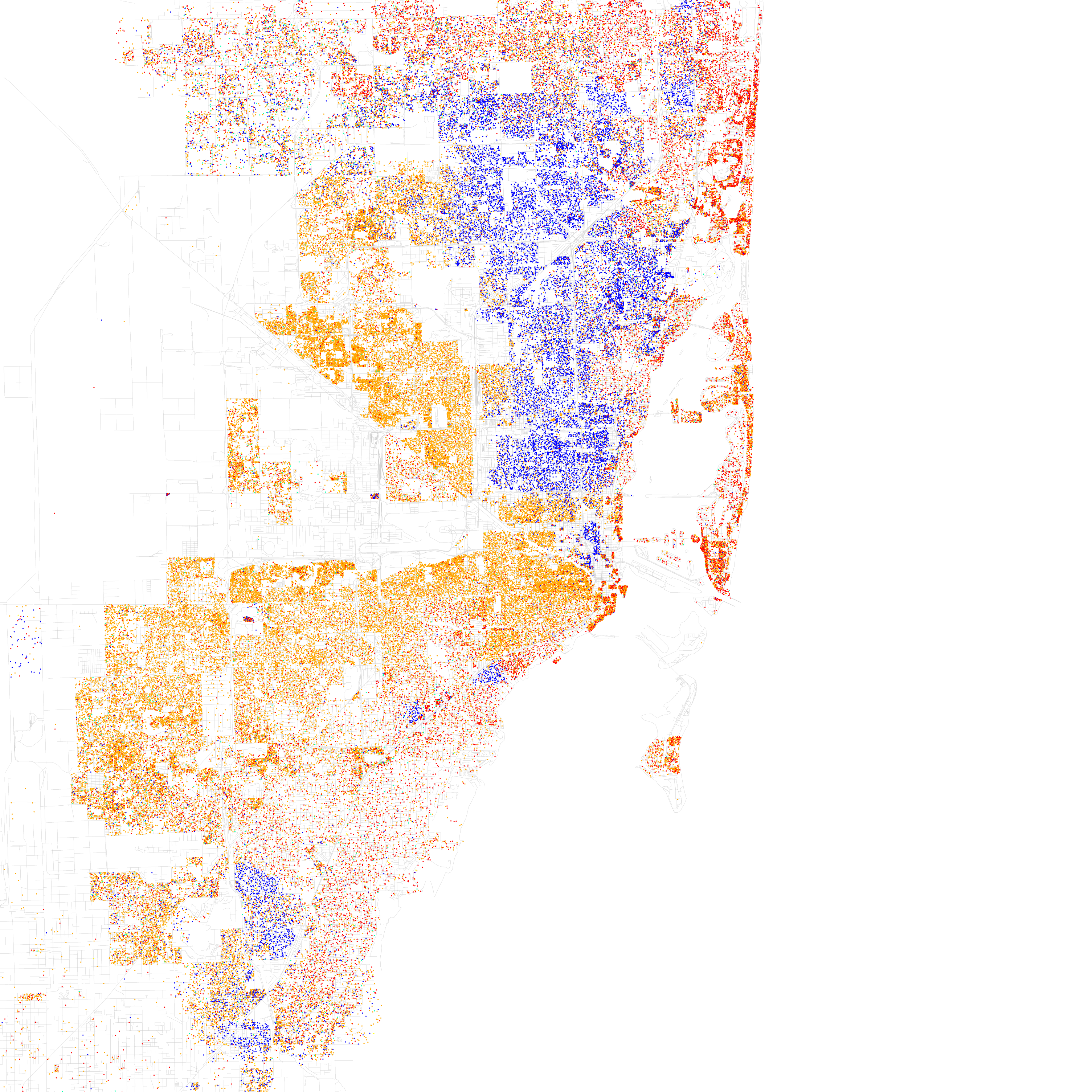 racial map miami dade with Miami on 2010 05 09 archive together with The Prosecutor Who Couldnt Win The Case Against George Zimmerman likewise Miami as well Check Out These Fascinating Maps Of Miamis Racial Mixup furthermore Chicago  munity areas.