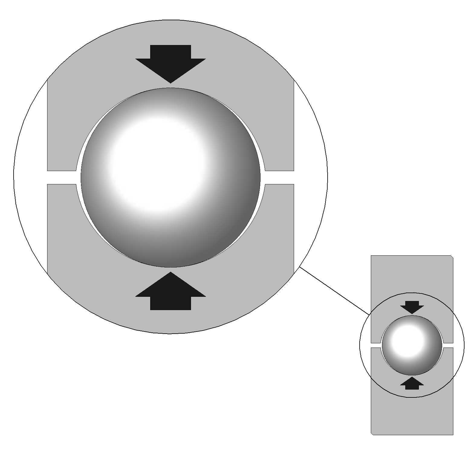 Point Of Contact: File:Rail-guides Two-point-contact Detail Arrows.png