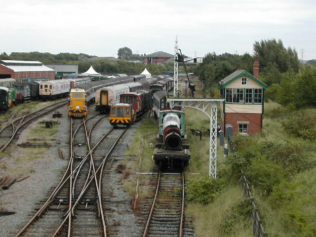Rail Heritage Centre, Rushcliffe Country Park - geograph.org.uk - 55392