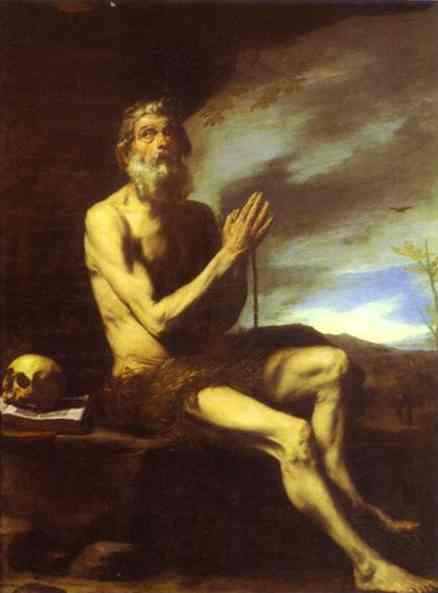 Ribera5Jusepe de Ribera. St. Paul the Hermit