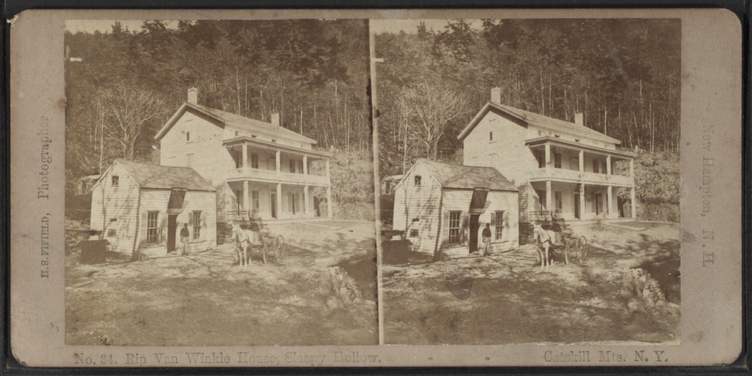 File Rip Van Winkle House Sleepy Hollow Catskill Mts N