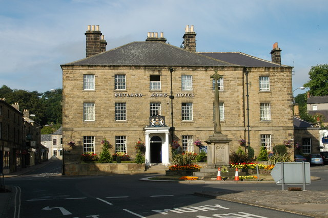 Rutland Arms Hotel, Bakewell - geograph.org.uk - 768196