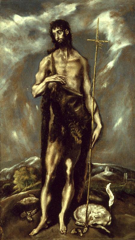 Resultado de imagen de Juan Bautista, el Greco