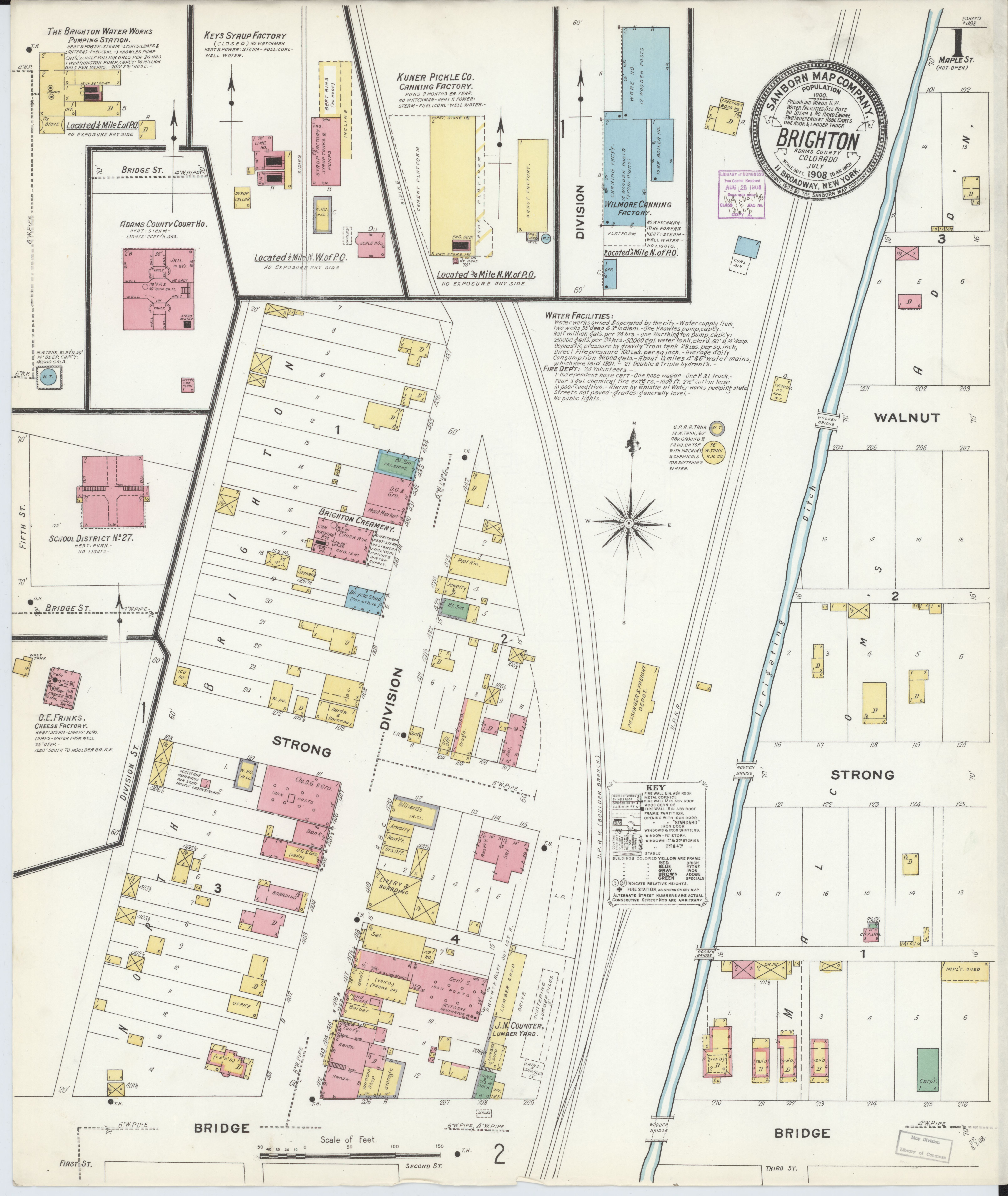 File Sanborn Fire Insurance Map From Brighton Adams County