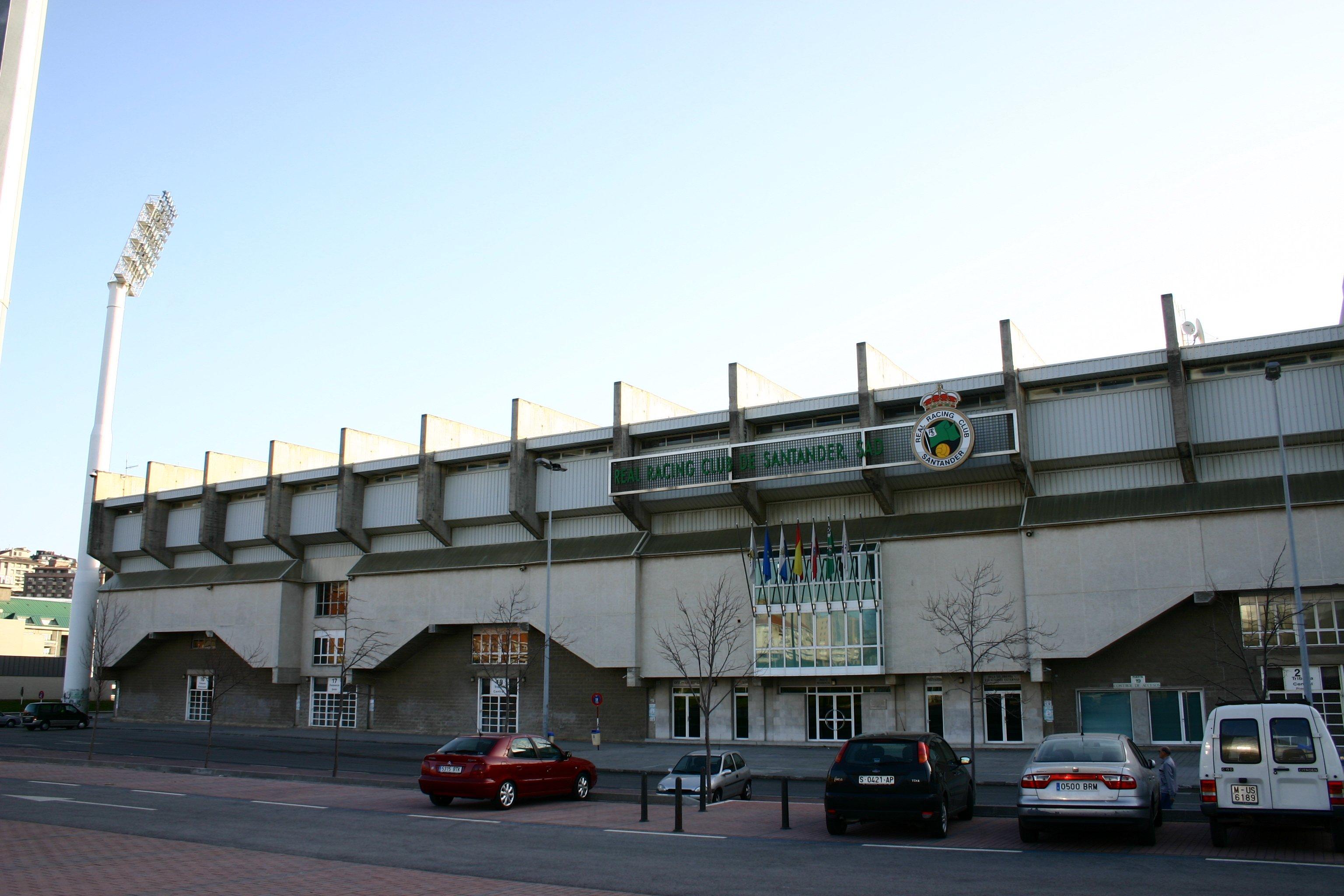 Estadio de fútbol El Sardinero