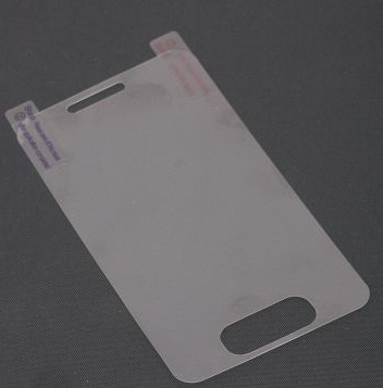 Screen Protector on Electronic Materials