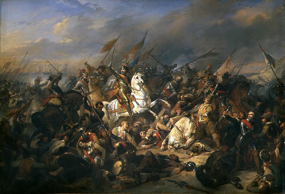 Slag bij Nieuwpoort - Nicaise De Keyser.jpg