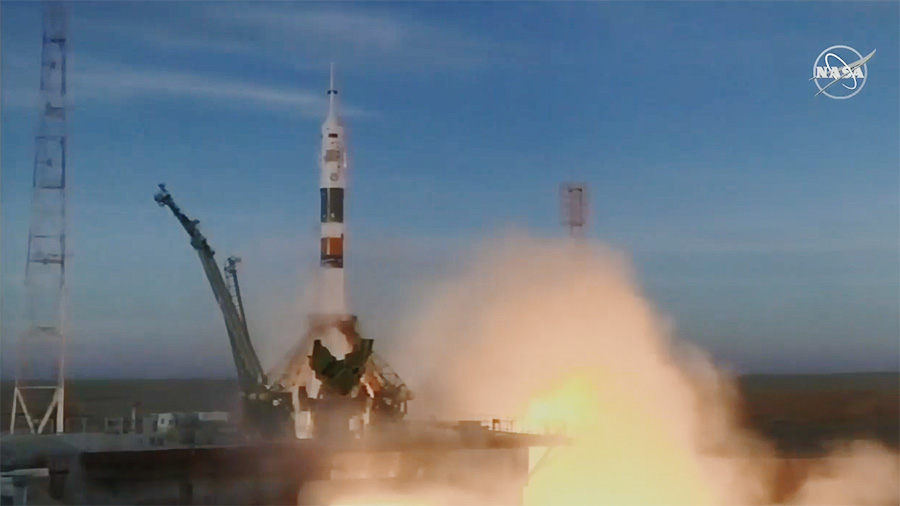 Soyuz MS-11 launched to the ISS.jpg