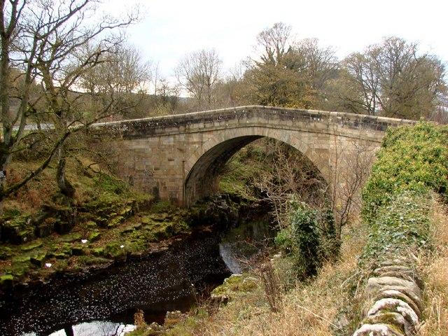 Stanhope Bridge - geograph.org.uk - 614715
