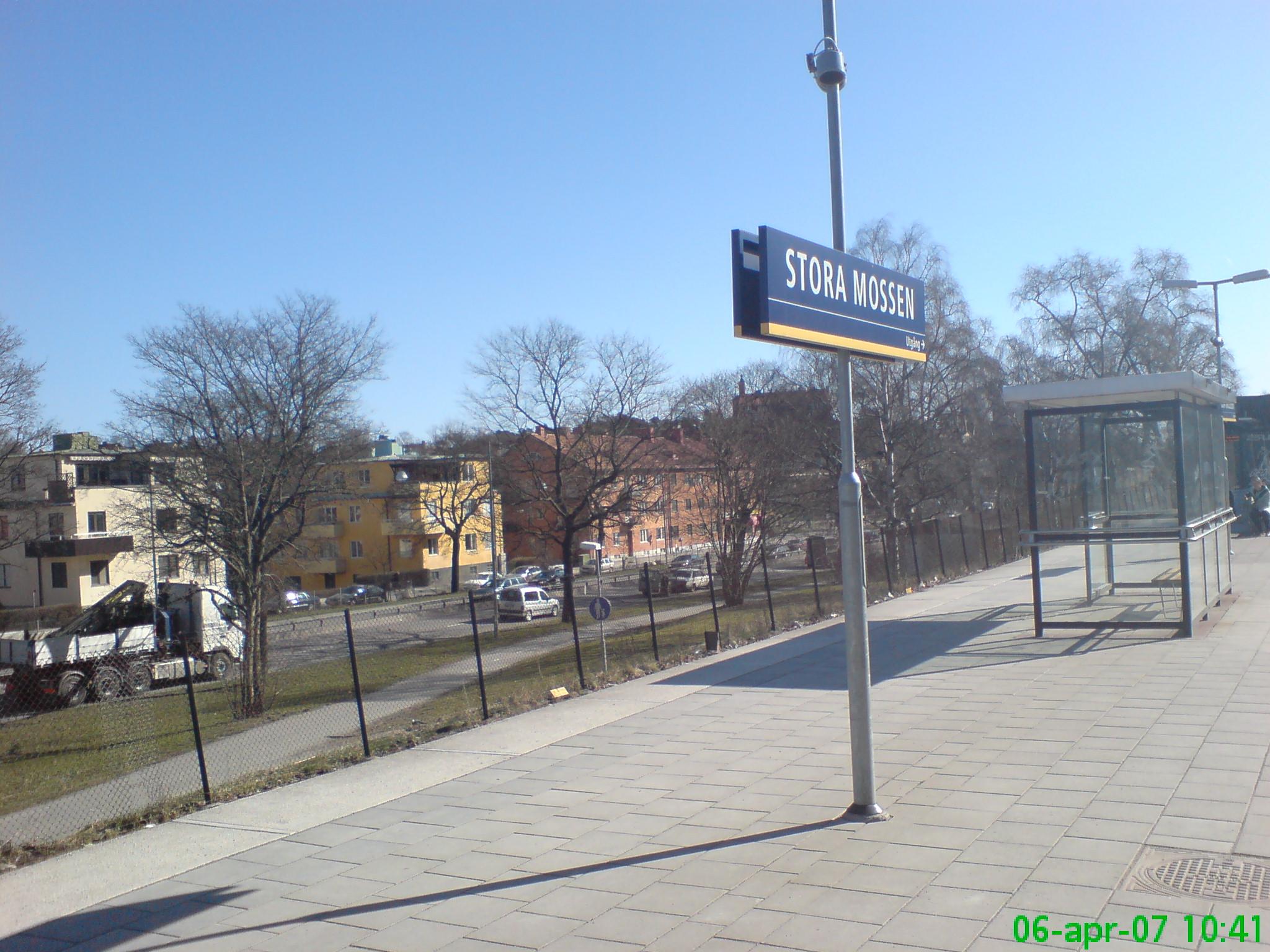 Stora Mossen tunnelbanestasjon