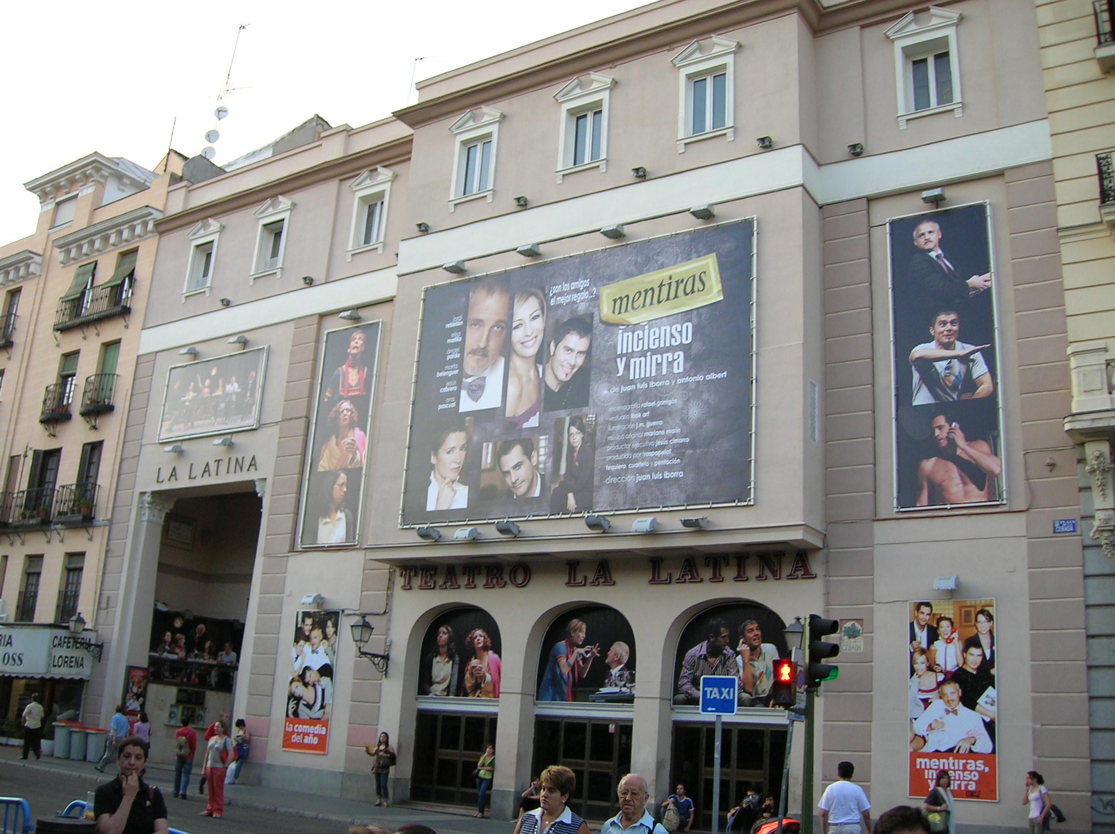 Depiction of Teatro La Latina