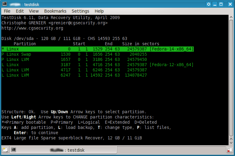 testdisk data recovery تحميل