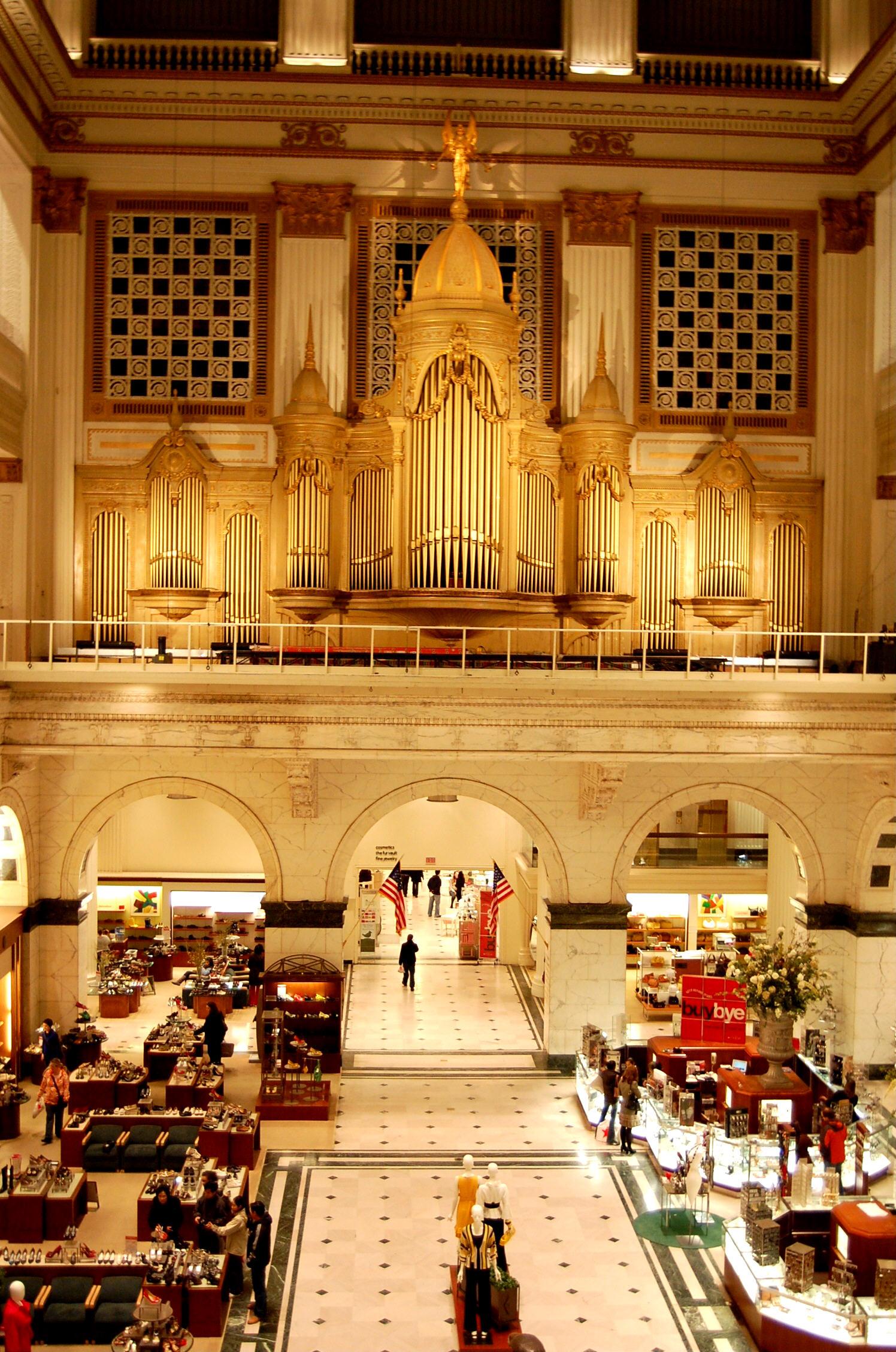 The [[Wanamaker Organ