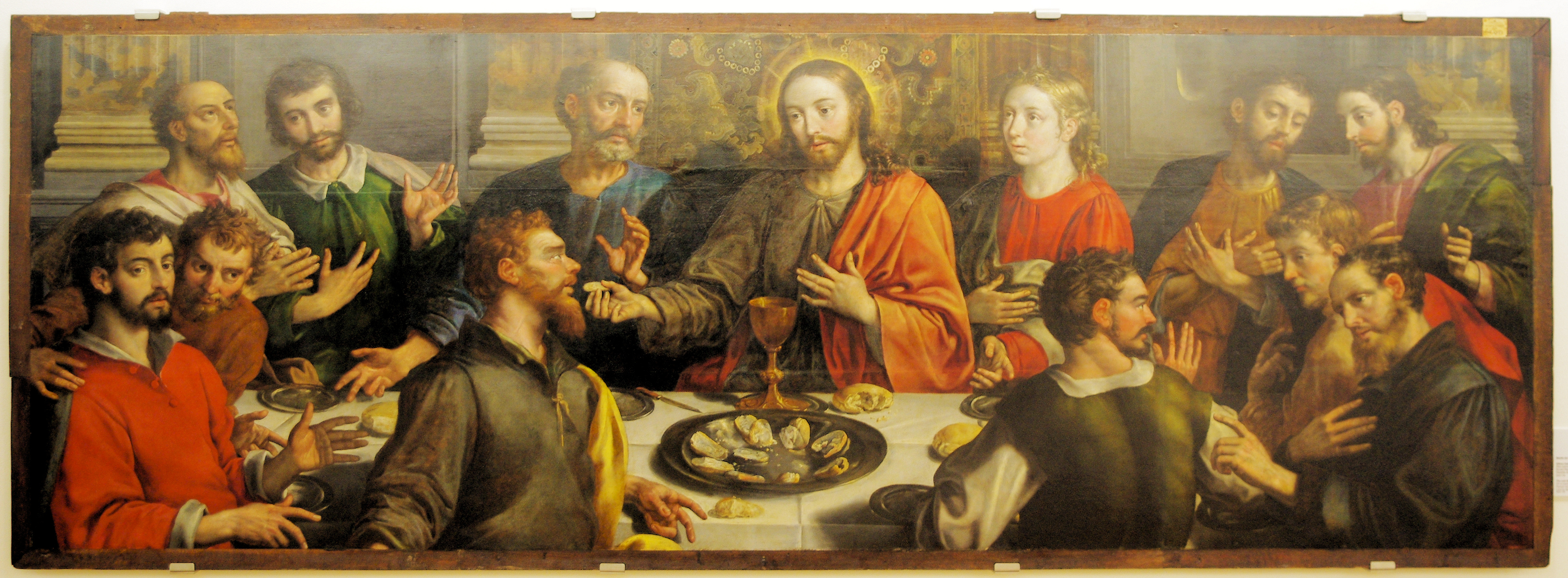 descriptive essay on the last supper Last supper (1495-98) by leonardo da vinci: analysis of high renaissance fresco mural painting.