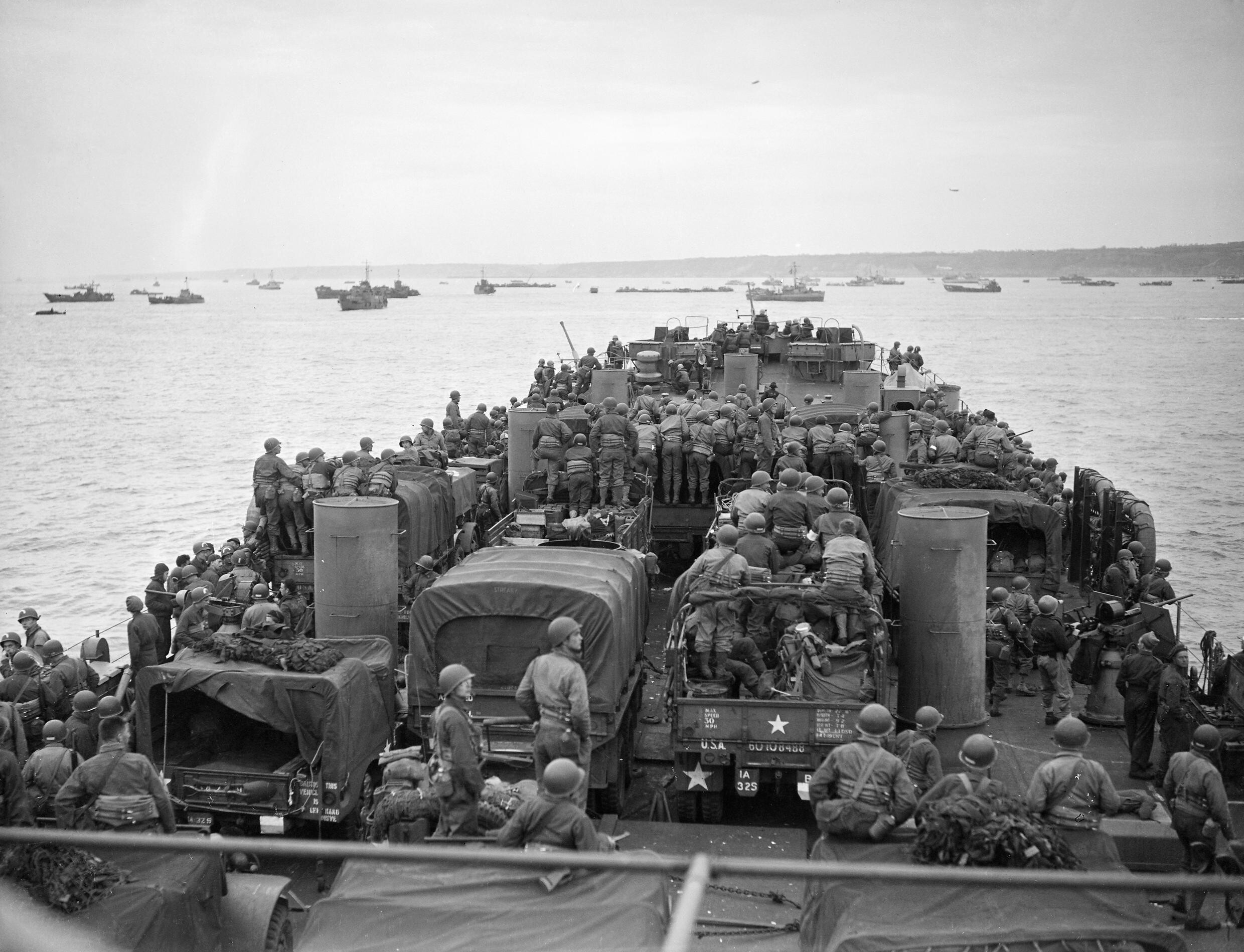 File:The Royal Navy during the Second World War- Operation Overlord (the Normandy Landings ...