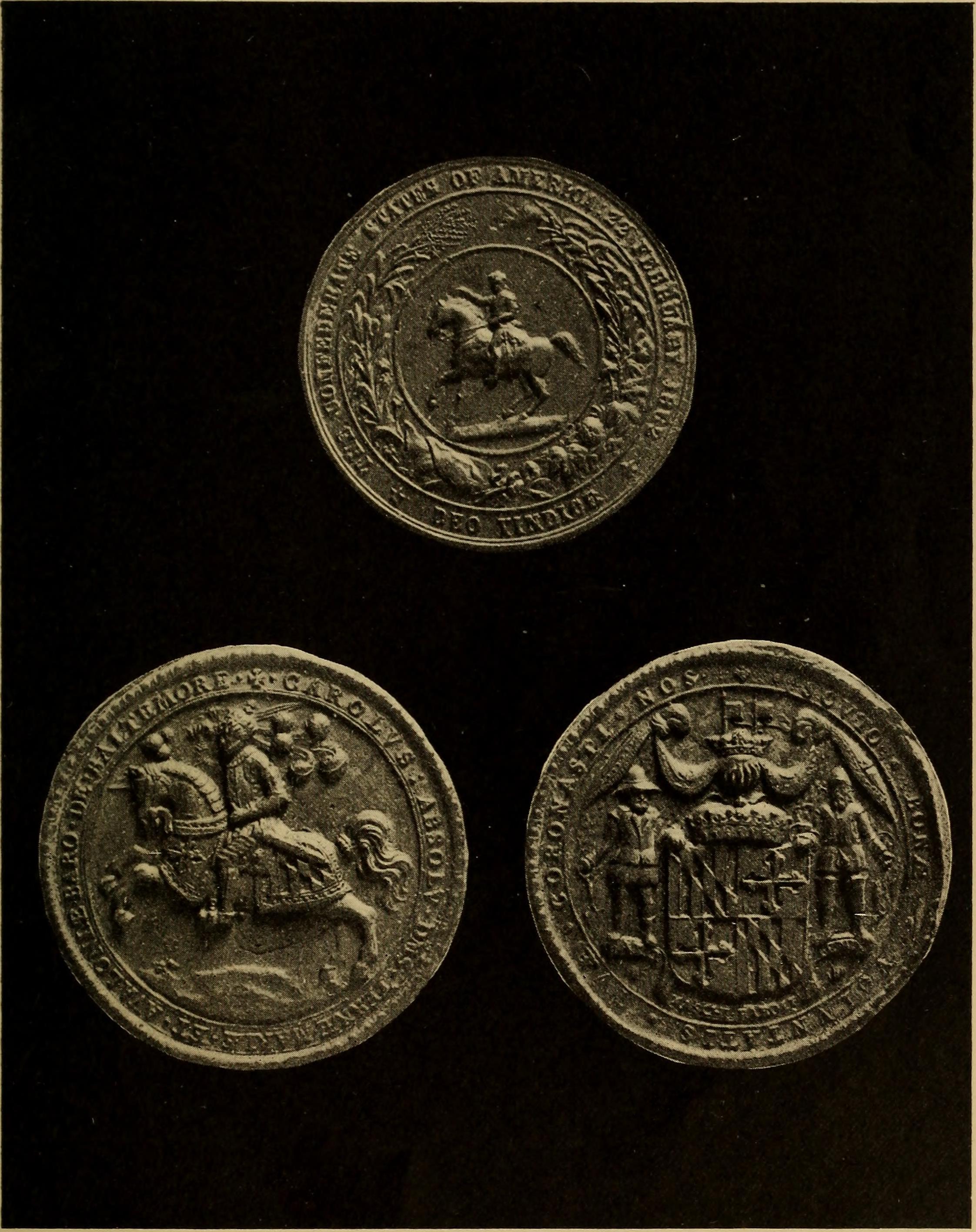 Three Great Seals of England
